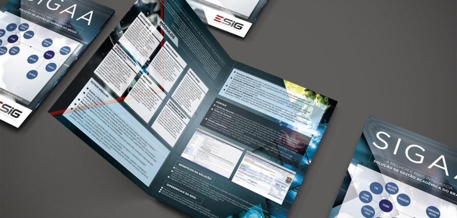 E-SIG – Folders para os sistemas