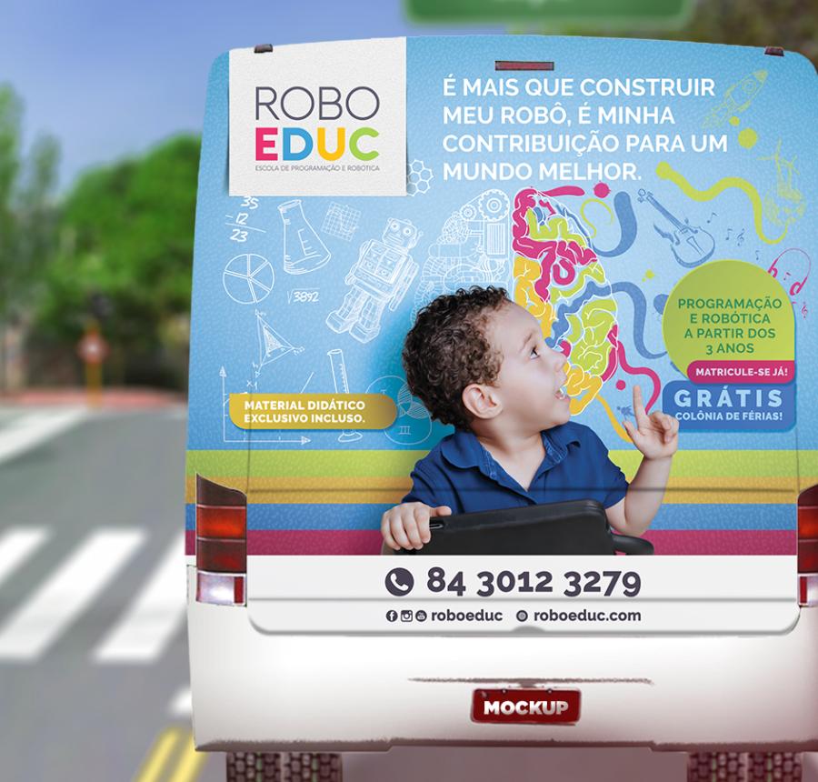 ROBOEDUC – Campanha | Pequenos Gênios, Grandes Reflexões!
