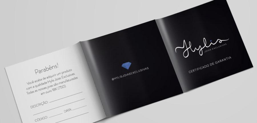 HYLIS JOIAS EXCLUSIVAS – Identidade Visual